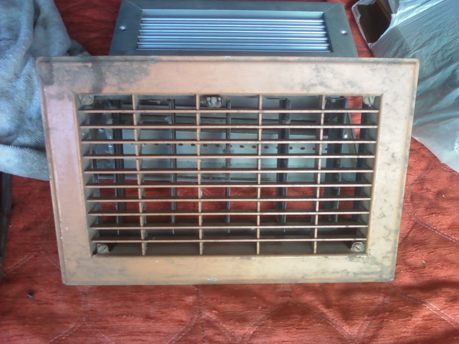 #387193 VINTAGE HEAT/AIR FLOOR WALL REGISTERS/VENTS For Sale  Highly Rated 4589 Hvac Wall Vents wallpapers with 1600x1200 px on helpvideos.info - Air Conditioners, Air Coolers and more