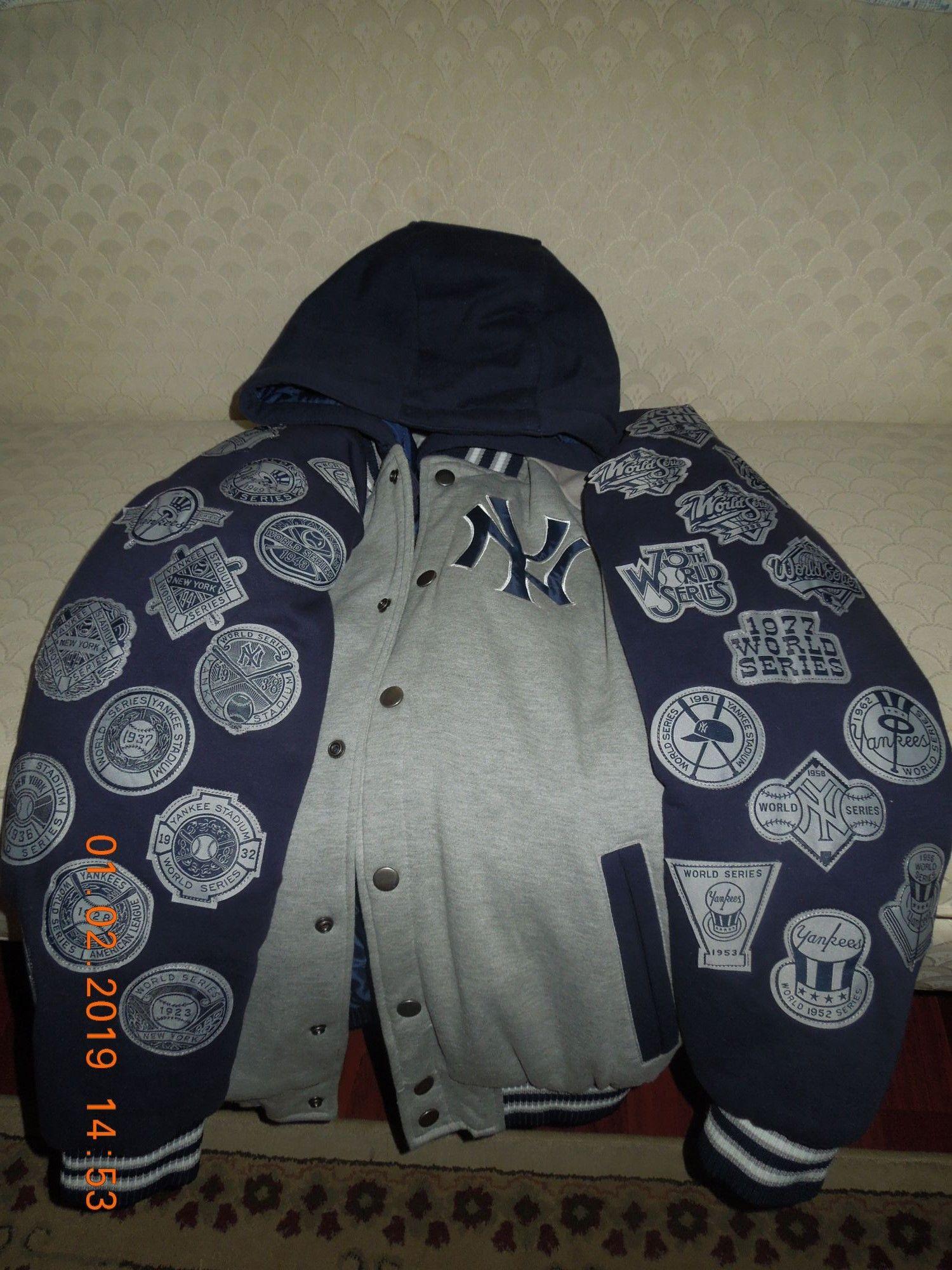 New York Yankee World Series Champion Jacket For Sale