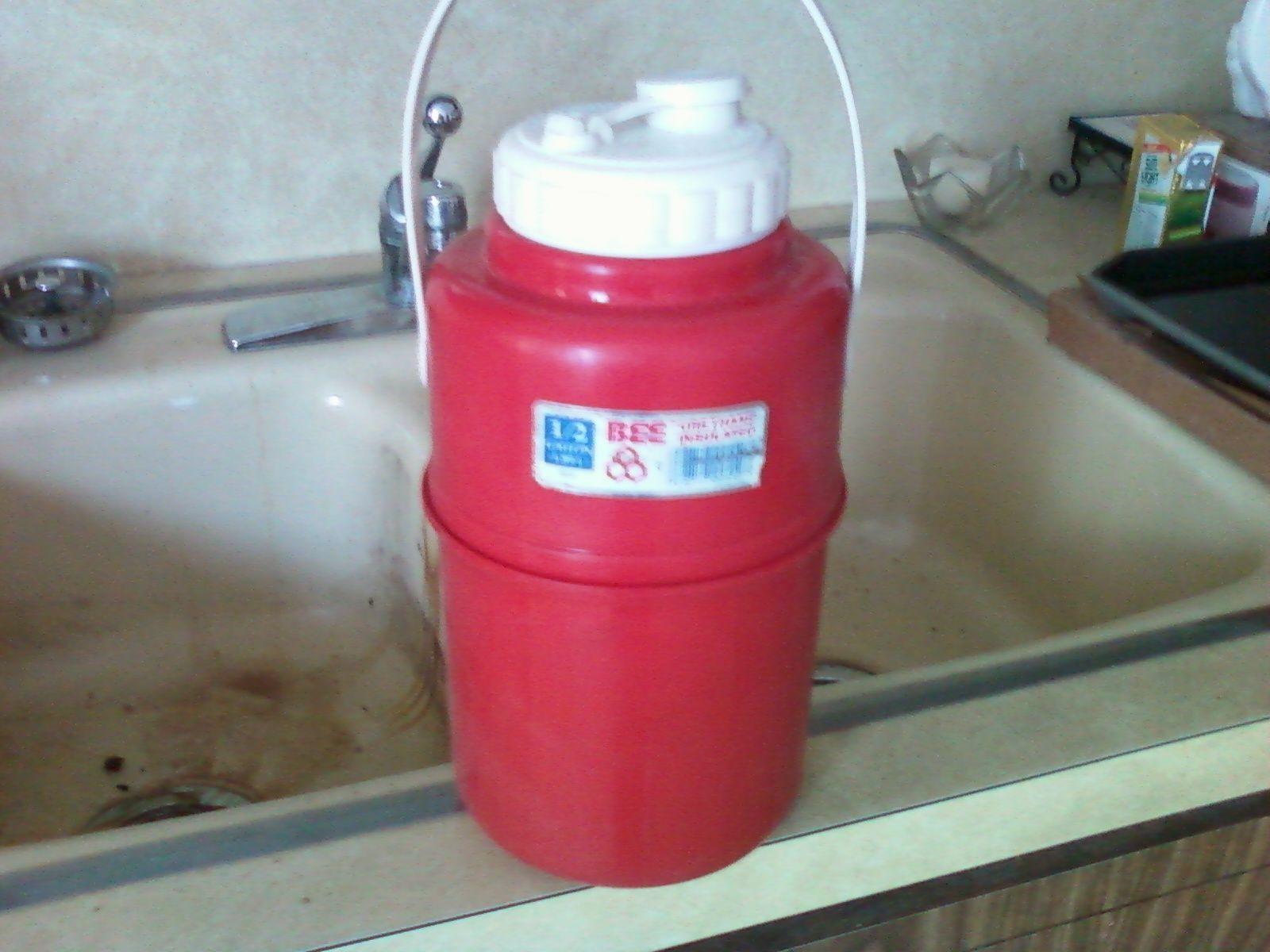 igloo 15gal drink dispenser and bee plastics urethane insulated water jug - Water Jug Dispenser