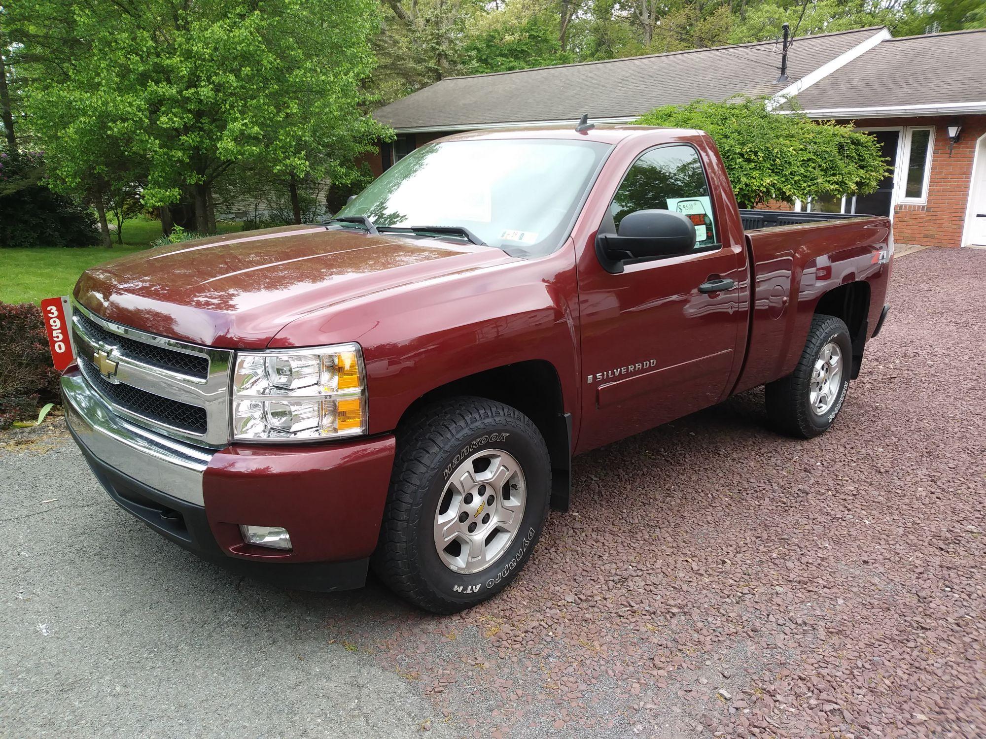 2008 Chevrolet Silverado For Sale Cars Trucks Paper Shop