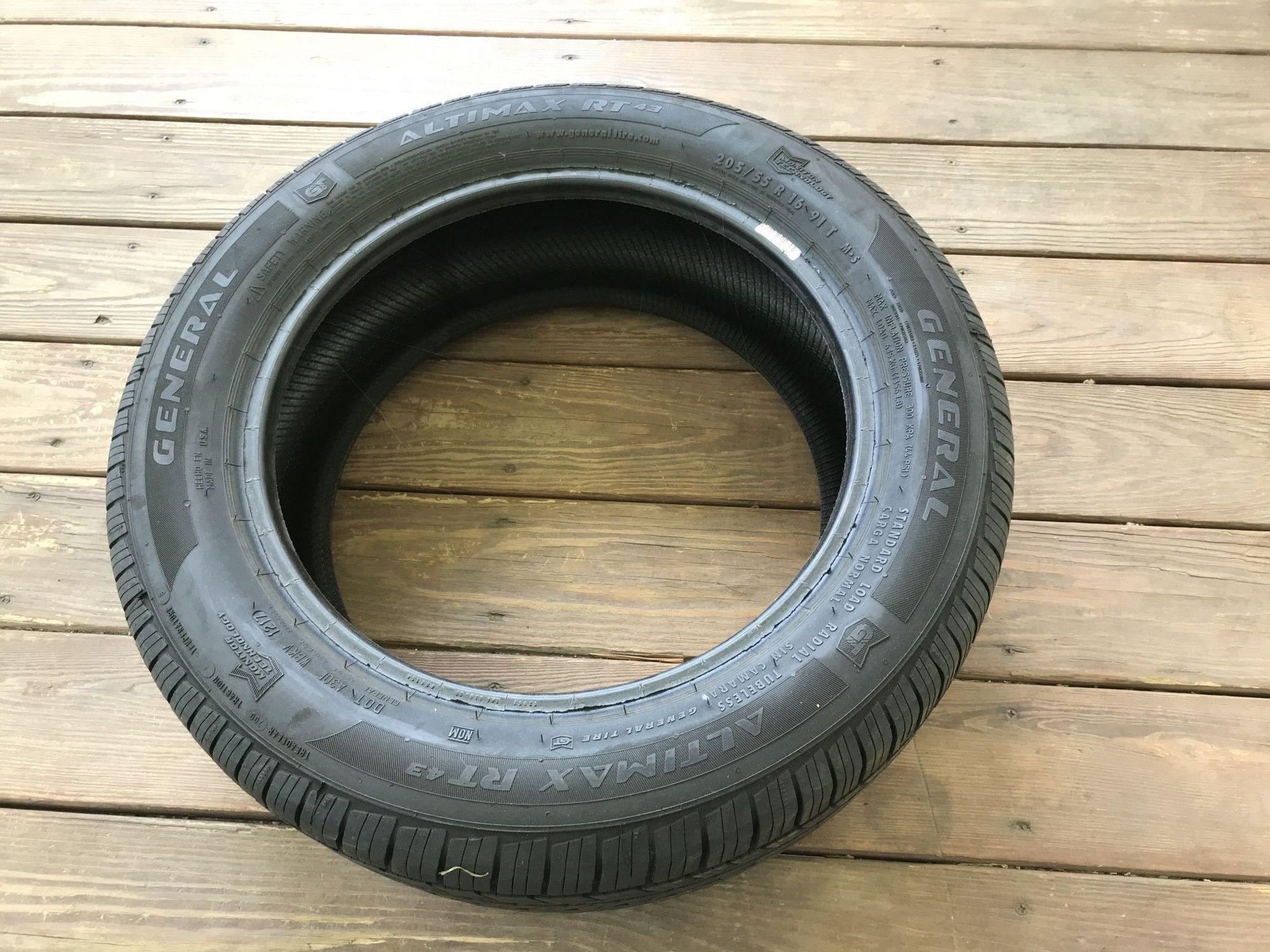 General Auto Parts >> 4 205 55r16 General Altima Rt Tires