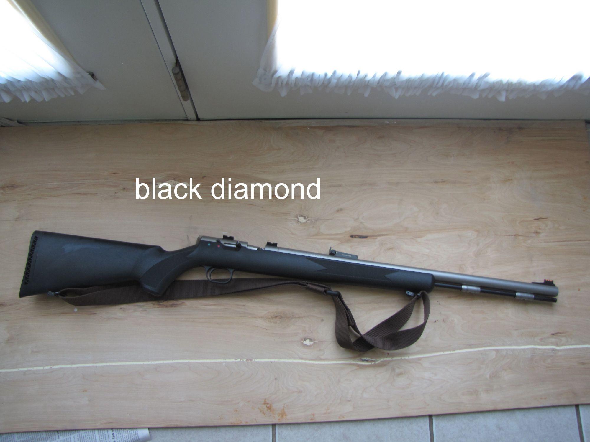 THOMPSON CENTER BLACK DIAMOND BLACK POWDER