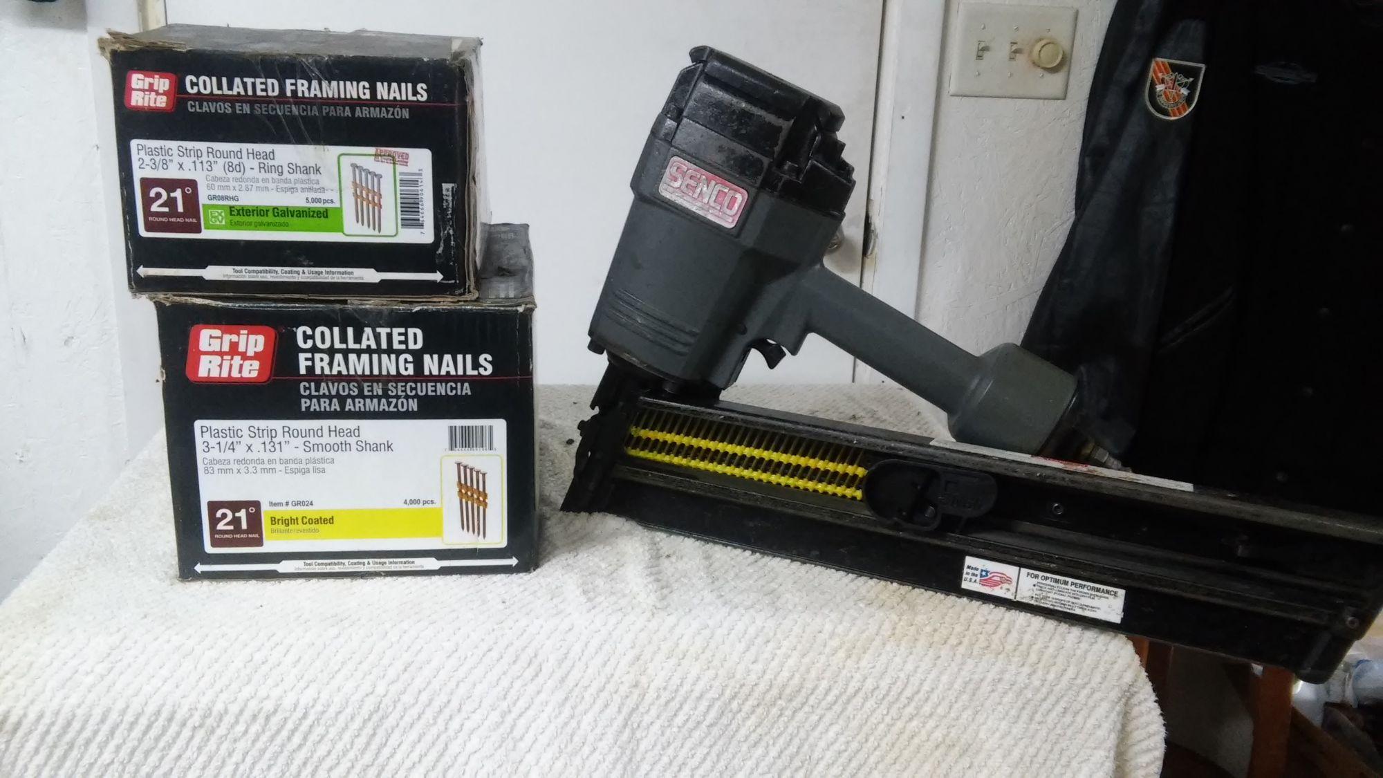 Framing Gun For Sale Machinery Tools Paper Shop Free